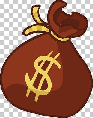 Money Bag Open PNG