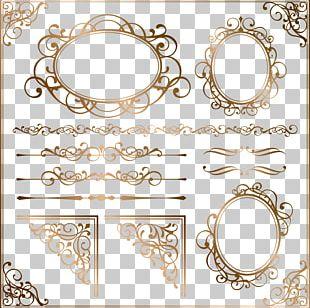 Ornament Frame Euclidean PNG