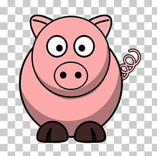 Domestic Pig Cartoon The Three Little Pigs PNG