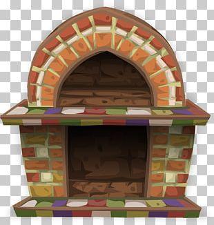 Fireplace Mantel PNG