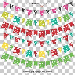 Paper Digital Scrapbooking Embellishment Banner PNG