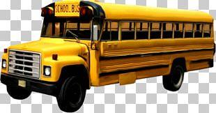 School Bus Car PNG