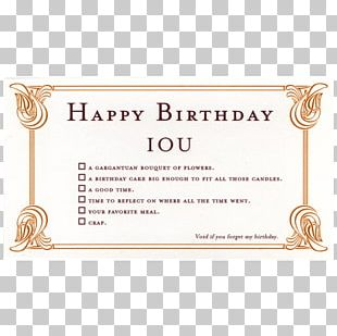 Wedding Invitation Greeting & Note Cards Birthday Gift IOU PNG