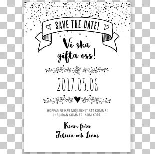 Save The Date Wedding Paper Place Cards Vintage PNG