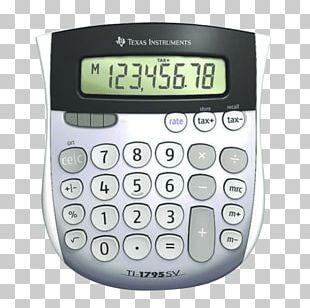 Texas Instruments Solar-powered Calculator TI-30 Solar Energy PNG