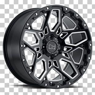 Rim Black Rhinoceros Car Wheel PNG