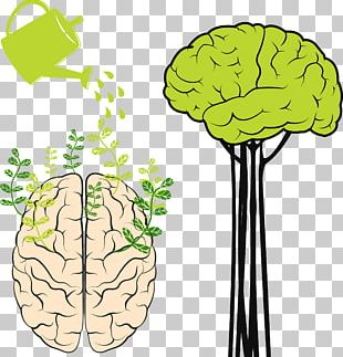 Abstract Brain PNG