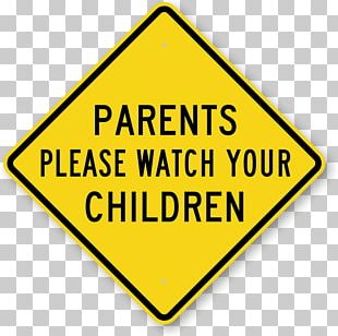 Child Warning Sign Traffic Sign Safety PNG