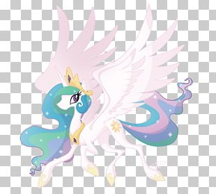 Princess Celestia Pony Drawing PNG