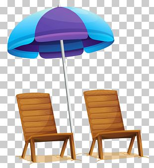 Table Eames Lounge Chair Umbrella PNG