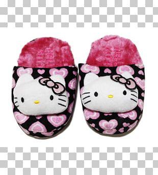 Slipper Pink M Shoe PNG