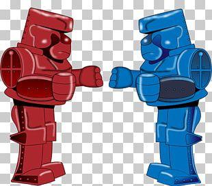 Rock 'Em Sock 'Em Robots Graphic Design PNG