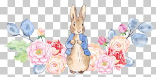 The Tale Of Peter Rabbit Watercolor Painting Illustration PNG