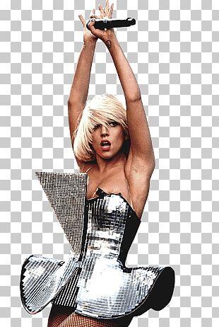 Discoball Dress Lady Gaga PNG