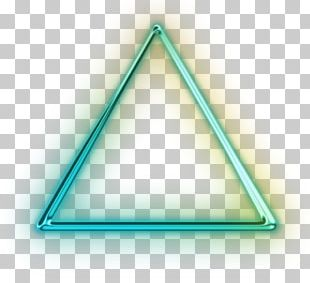 Triangle Green C-Life Marketing Turquoise PNG
