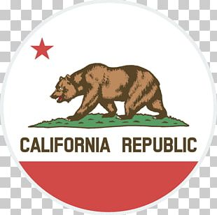 California Republic Flag Of California State Flag California Grizzly Bear PNG