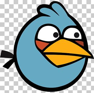 Angry Bird Blue PNG