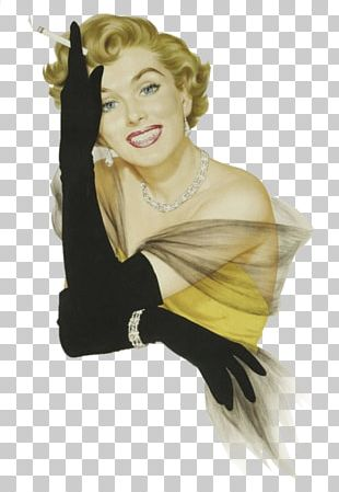Marilyn Monroe Pin-up Girl Humour Illustration Woman PNG