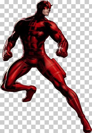 Daredevil Standing PNG