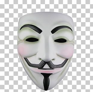 V For Vendetta Guy Fawkes Mask Anonymous PNG