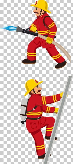 Firefighter Fire Department Fire Engine Stock Photography PNG