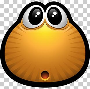 Smile Yellow Beak Icon PNG