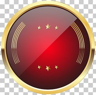 Badge Red PNG