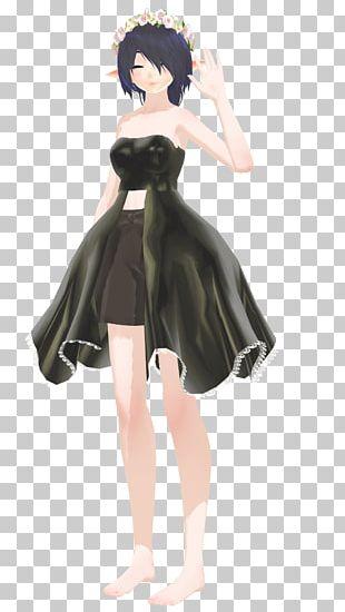 Black Hair Brown Hair Figurine Anime PNG