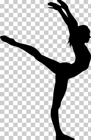 Silhouette Rhythmic Gymnastics Artistic Gymnastics Ribbon PNG