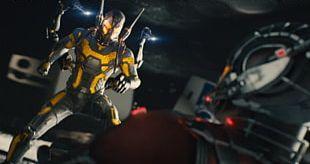 Hank Pym Ant-Man Hope Pym Wasp Darren Cross PNG