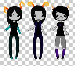 Clothing Accessories Black Hair Character PNG