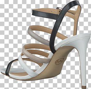 Footwear High-heeled Shoe Sandal Beige PNG