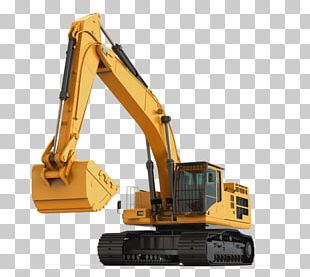 Excavator Bulldozer Architectural Engineering Heavy Machinery PNG
