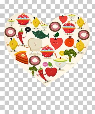 Food Poster Cartoon PNG