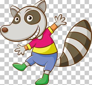 Raccoon Cartoon PNG