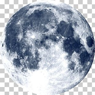 Full Moon Planet Natural Satellite Astronomy PNG