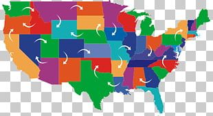 United States Blank Map U.S. State PNG