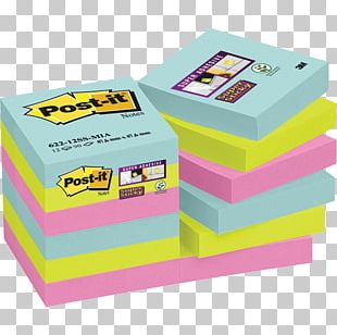 Post-it Note Stationery Adhesive Office Supplies Post-it Super Sticky Colour Notes PNG