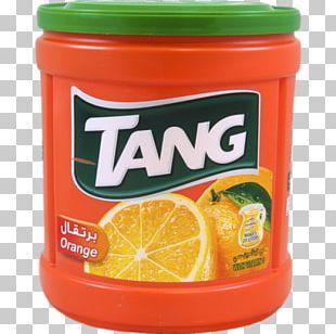 Drink Mix Orange Drink Orange Juice Tang PNG