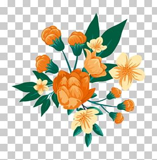 Flower Wedding Watercolor Painting Euclidean PNG