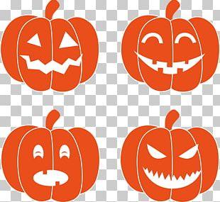 Halloween Jack-o'-lantern Pumpkin Cricut PNG