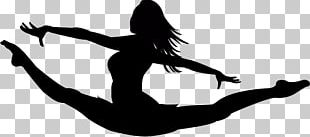 North Springs Charter School Of Arts And Sciences Rhythmic Gymnastics Silhouette Monochrome Photography PNG