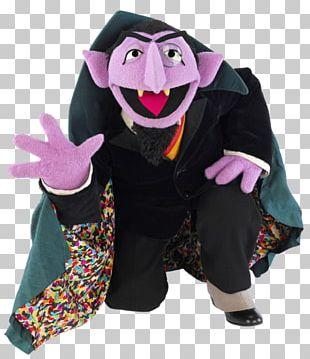 Count Von Count Bert Elmo Big Bird Grover PNG
