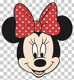 Minnie Mouse Mickey Mouse Face PNG
