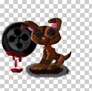 Puppy Dog Figurine Animated Cartoon PNG