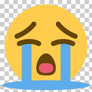 Face With Tears Of Joy Emoji Crying Sticker PNG