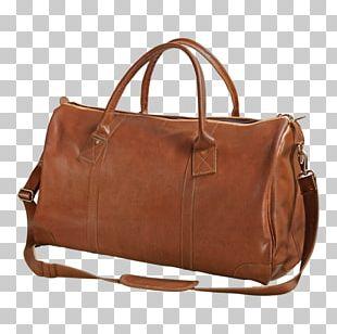 Handbag Leather Duffel Bags Baggage PNG
