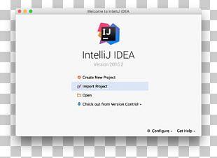 IntelliJ IDEA Plug-in JetBrains Computer Programming Web Page PNG
