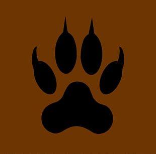 Lion Footprint Paw PNG