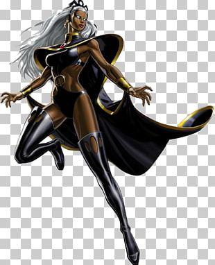 Marvel: Avengers Alliance Storm Black Panther Jean Grey Black Widow PNG